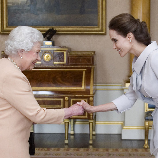 Angelina Jolie Receives Damehood From Queen Elizabeth
