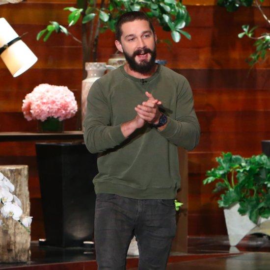 Shia LaBeouf Talks About His Arrest on Ellen Show | Video