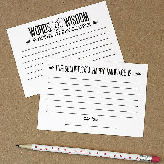 Free Wedding Guest-Book Printables