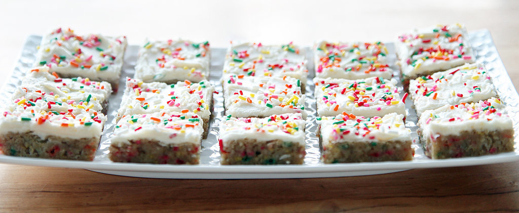 Drop Everything and Make These Funfetti Blondies