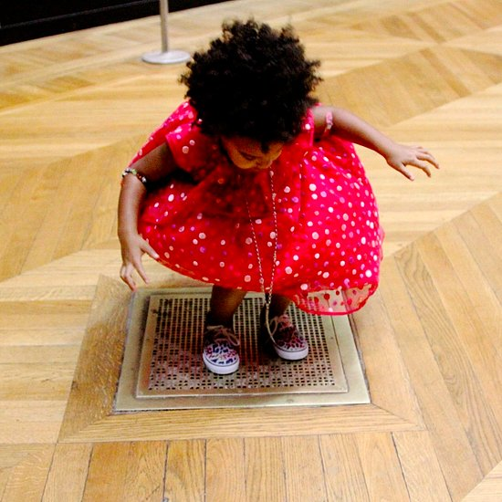 Beyonce and Jay Z at the Louvre With Blue Ivy | Pictures