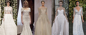 100+ Must-See Wedding Dresses From Bridal Fashion Week Autumn 2015