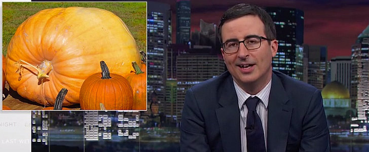 John Oliver's Hysterical Rant Against Pumpkin Spice Is Spot-On