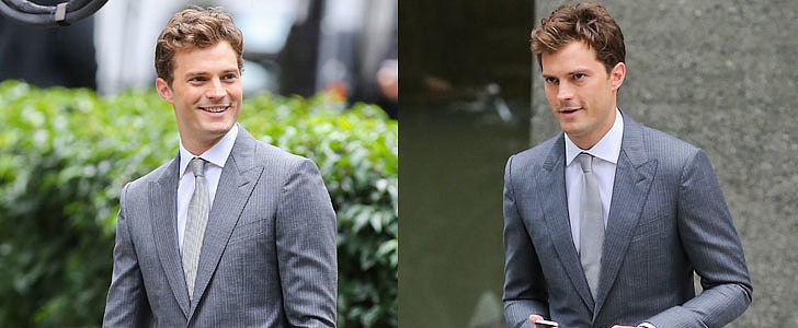 Jamie Dornan Suits Up For Fifty Shades Reshoots