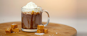 Get the Dish: Dunkin' Donuts Salted Caramel Hot Chocolate