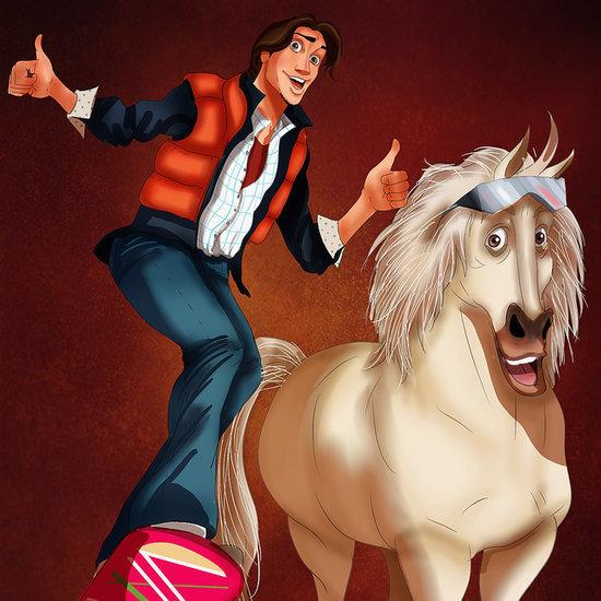 Disney Characters in Halloween Costumes