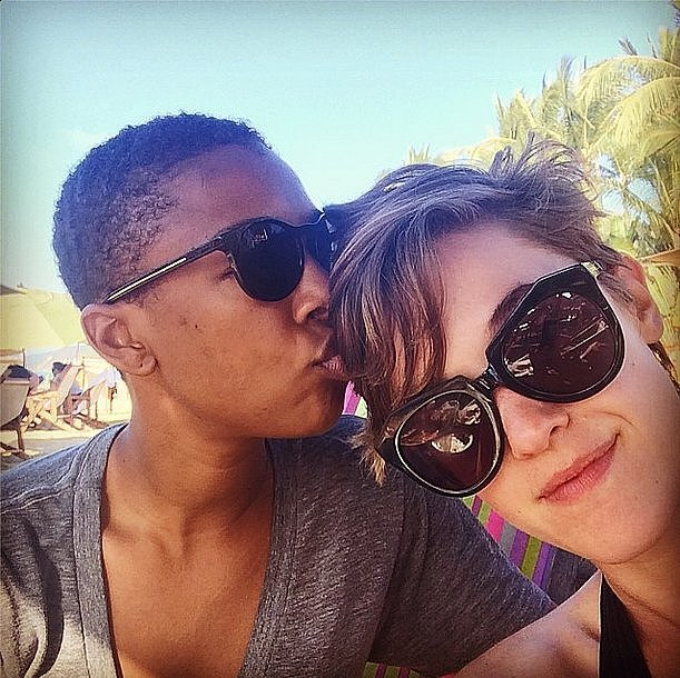 Samira Wiley and Lauren Morelli