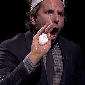 Jimmy Fallon and Bradley Cooper Playing Egg Russian Roulette