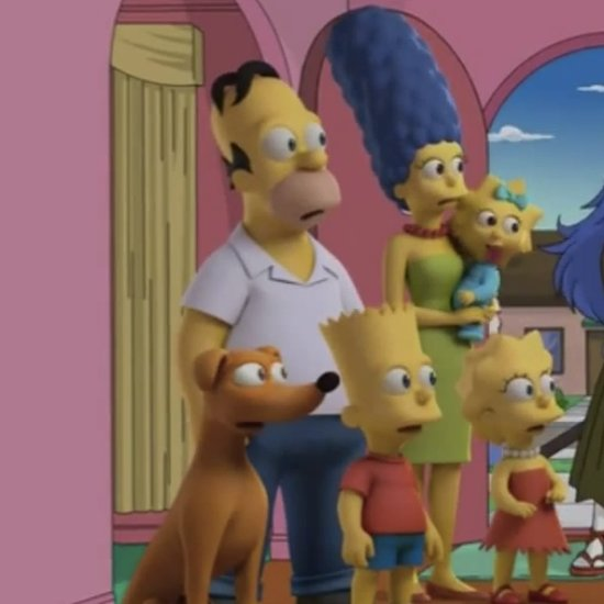 Simpsons Halloween Episode Makeovers | Video