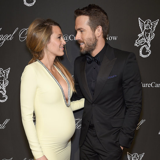 Pregnant Blake Lively Baby Bump Pictures at 2014 Angel Ball