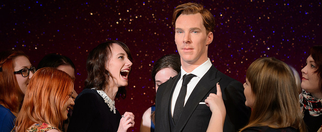 Benedict Cumberbatch's Wax Figure Causes a Fan Frenzy