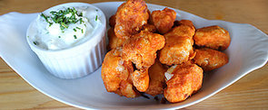 "Prepare to Be Fooled by These Crispy Cauliflower Buffalo ""Wings"""