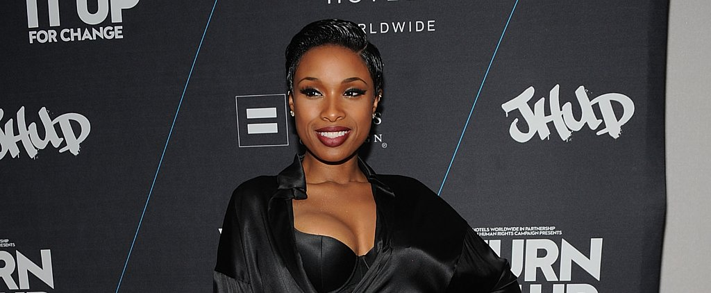 Did Jennifer Hudson Forget to Change Before Hitting the Red Carpet?