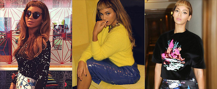 Copy Beyoncé's Blunt Baby Bangs in 3 Easy Steps