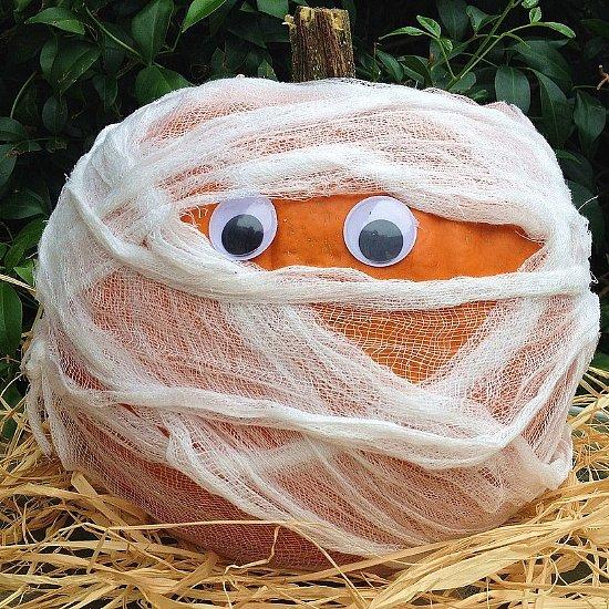 Halloween No-Carve Pumpkin Ideas For Kids