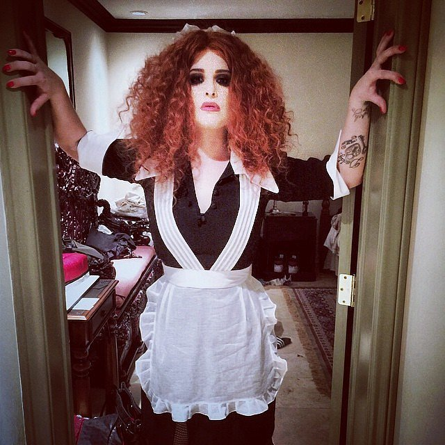 In 2014, Kelly Osbourne didn't skimp on her costume for Magenta from The Rocky Horror Picture Show.
