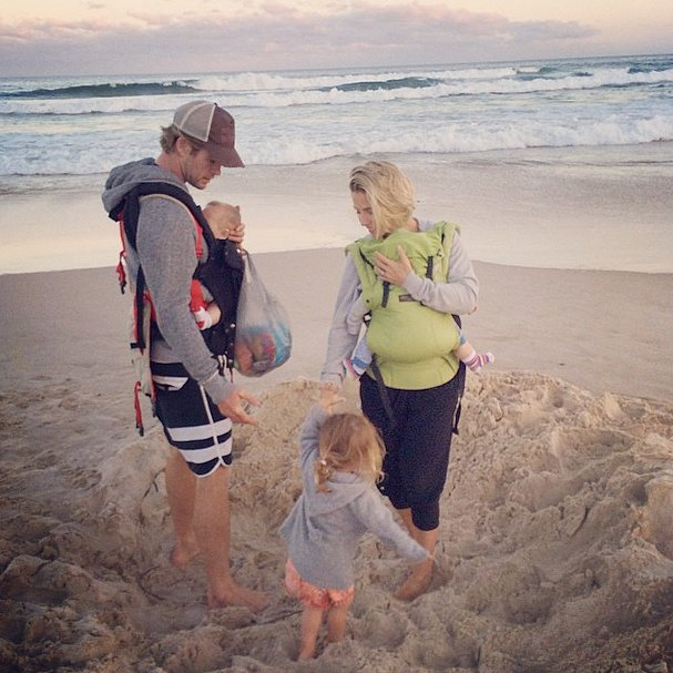 Chris Hemsworth's Twins Hold Hands in a Sweet New Snap
