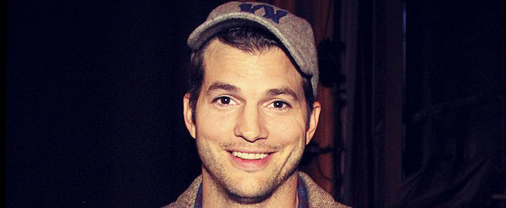 Ashton Kutcher Is Seriously Adorable While Gushing About Baby Wyatt