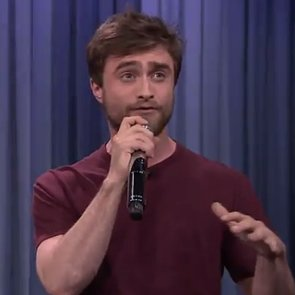 Daniel Radcliffe Rapping on The Tonight Show Video