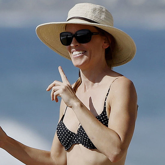 Hilary Swank in a Bikini With Laurent Fleury | Pictures