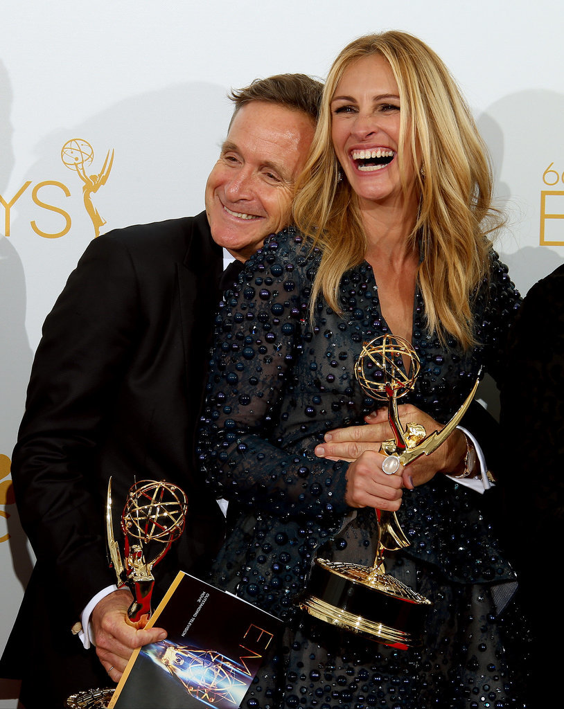 She couldn't stop smiling at the 2014 Emmy Awards.