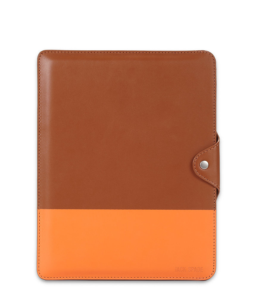 This good-looking dipped leather iPad case ($128) is just the thing to score major points with pops.
