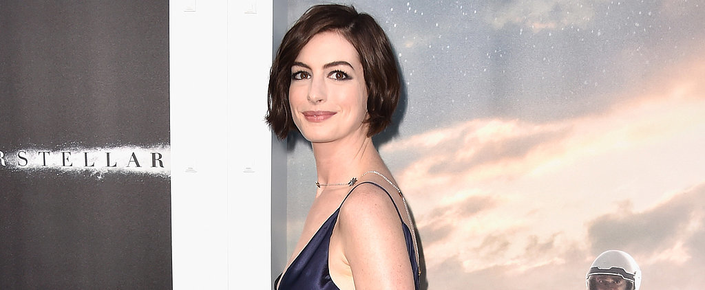"Anne Hathaway Says She's Ready to Just ""Be Married and Take It Easy"""
