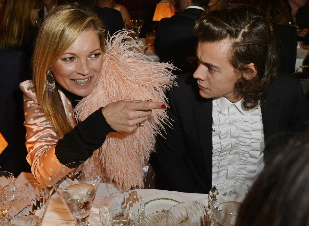 Then She Sat Down to Dinner Next to Harry Styles