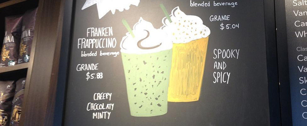 Starbucks's New Franken Frappuccino Is Scarily Delicious