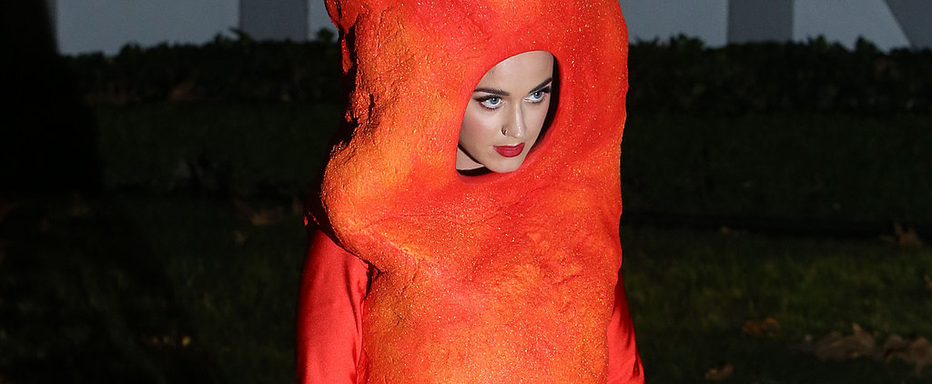 Katy Perry Gets Dangerously Cheesy For Halloween