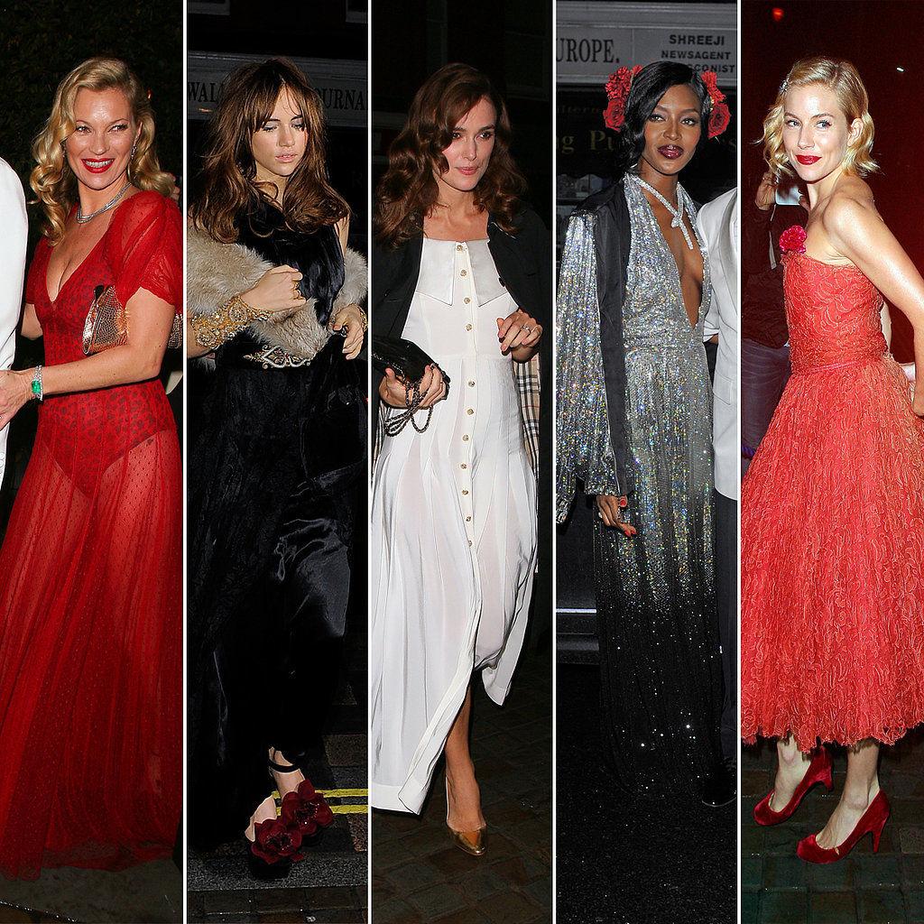 Who Was Best Dressed at Mario's '40s Havana-Themed Party?