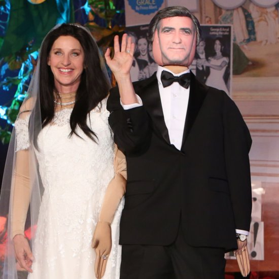Ellen DeGeneres Amal Alamuddin Halloween Costume