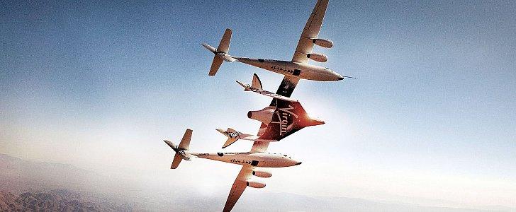 Virgin Galactic's Spaceship Crashes in California