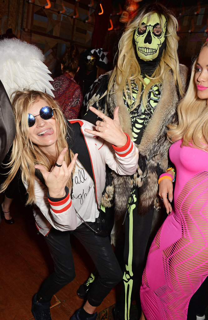 Kate Moss's Halloween Costume in Action