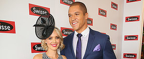 Blake Garvey and Louise Pillidge Make Their Couple Debut at Melbourne Cup
