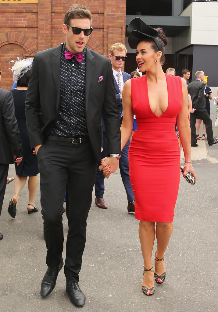 2014: Shaun Hampson and Megan Gale