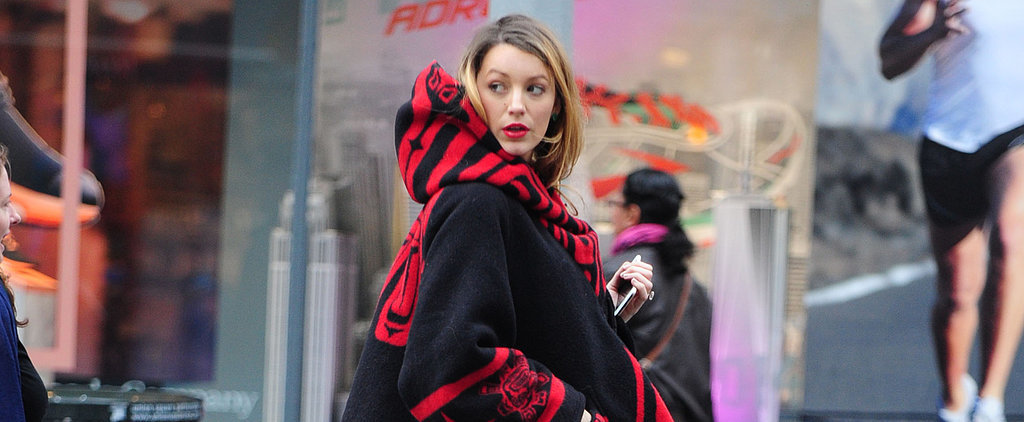 Blake Lively Covers Up Her Baby Bump For a Day in the City