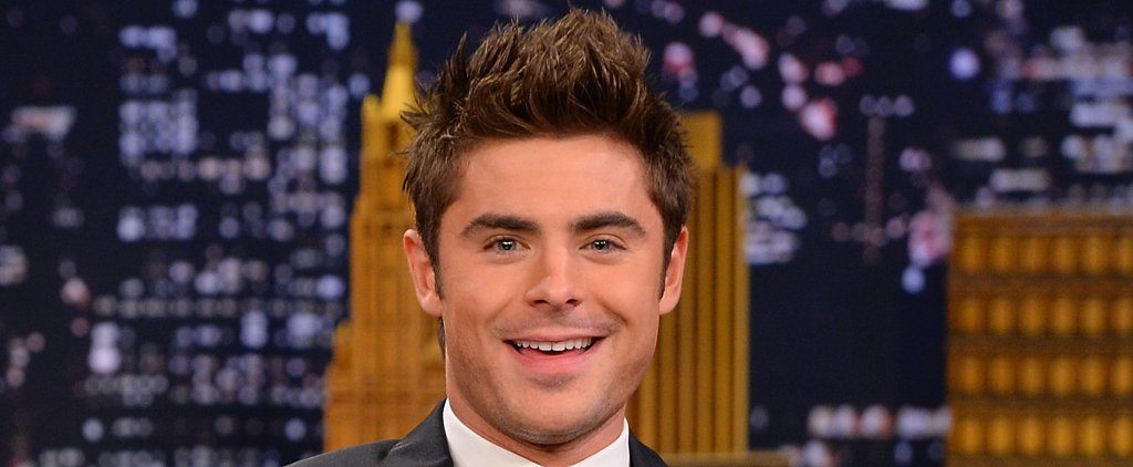 Zac Efron Ditches His Signature Hairstyle For a Sexy Undercut