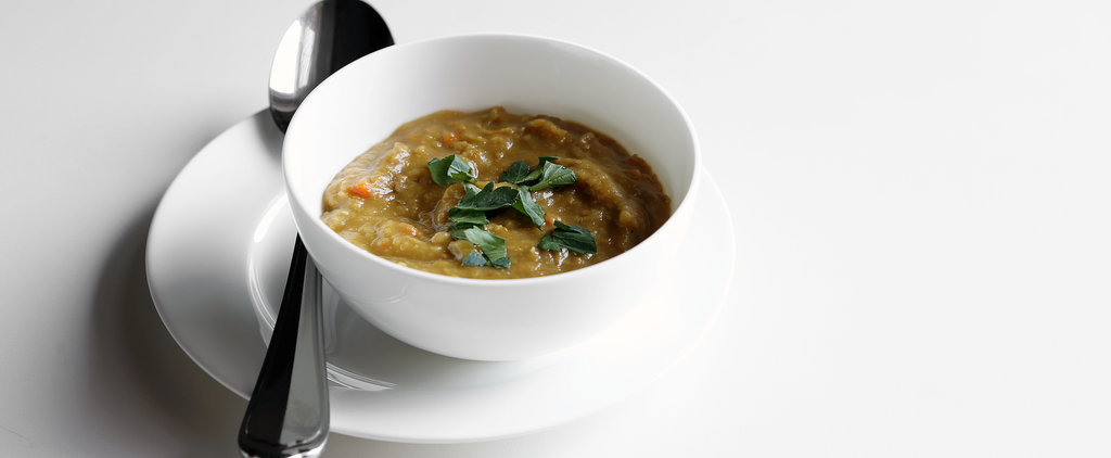 A Split Pea Soup That Slow-Cooks Itself