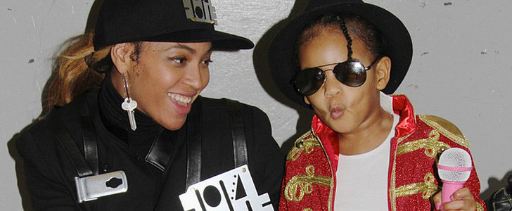 Blue Ivy Carter Totally Committed to Her Michael Jackson Costume