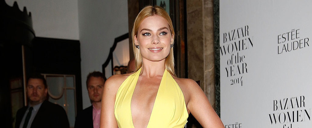 Margot Robbie Takes the Plunge in Yellow