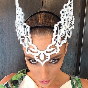Celebrity Instagrams From Crown Oaks Day 2014