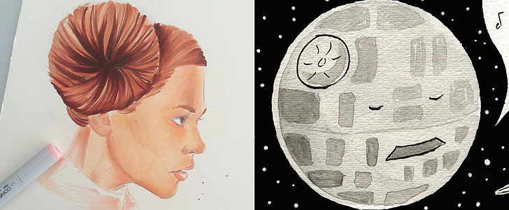 Princess Leia Hates Disney Life, and Other Star Wars Fan Art