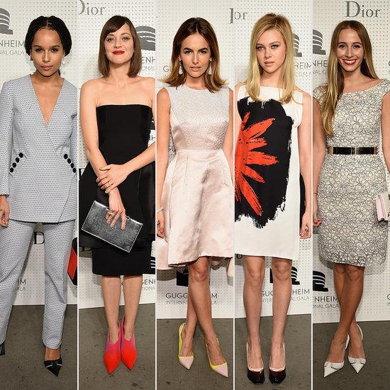 Marion Cotillard wears Dior at the Guggenheim Gala