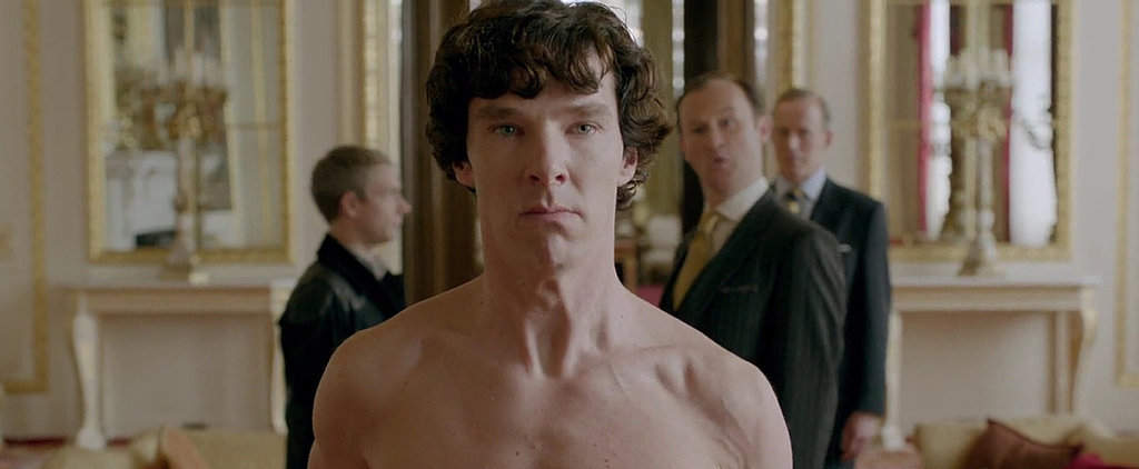 Don't Lie — You're Kind of Obsessed With Benedict Cumberbatch as Sherlock