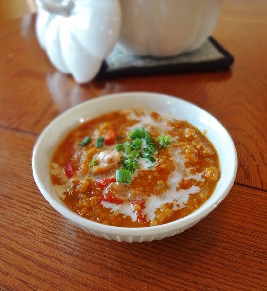 Healthy Pumpkin Chili Recipe With Quinoa