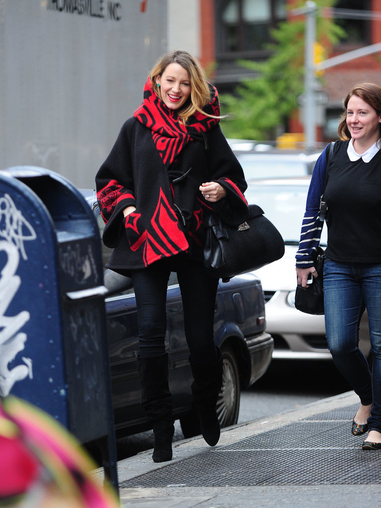 Blake Lively's Outerwear Style