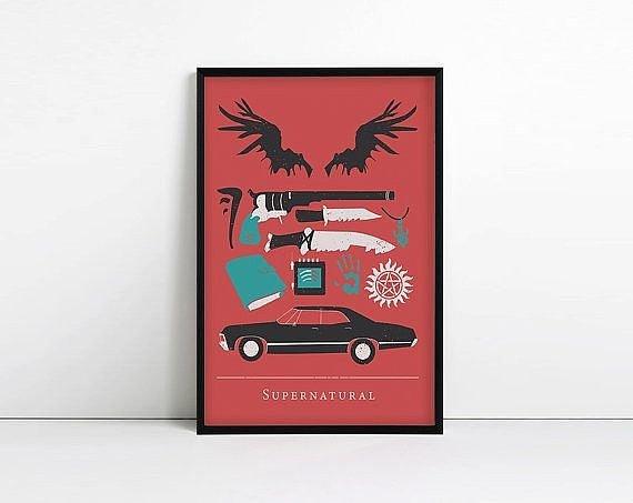 Poster minimalista ($ 11)