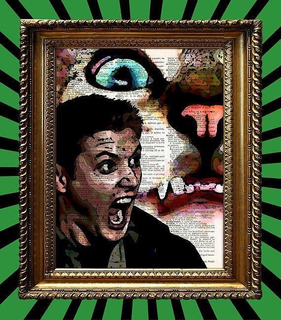 Gatto Scaredy Dean Stampa ($ 9)