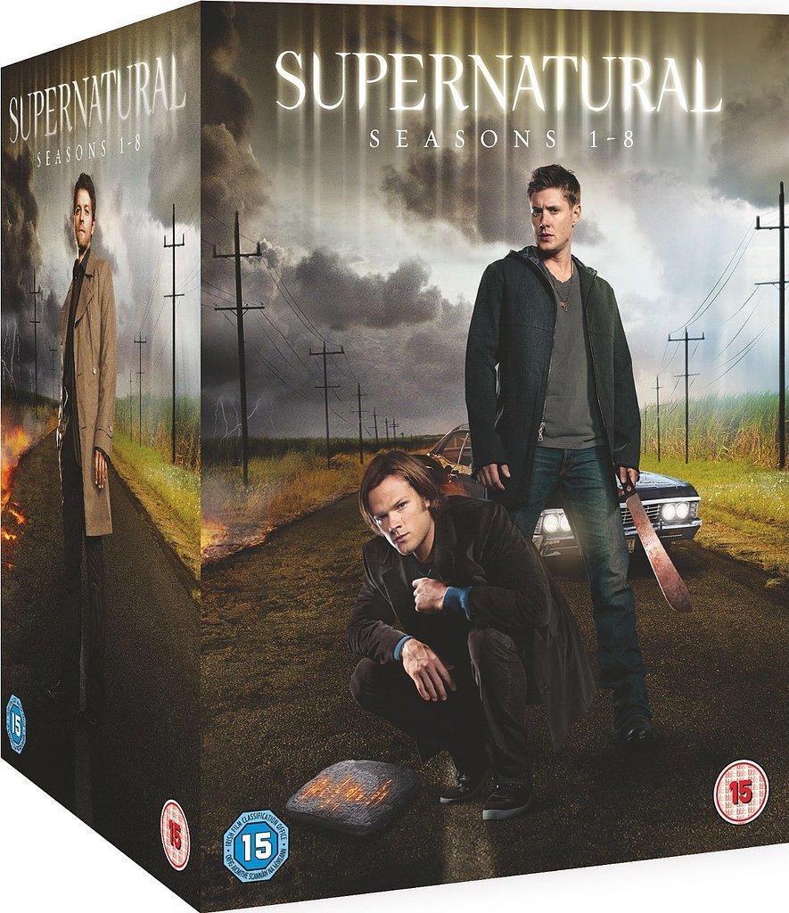 Supernatural: Stagioni 1-8 su DVD ($ 190)